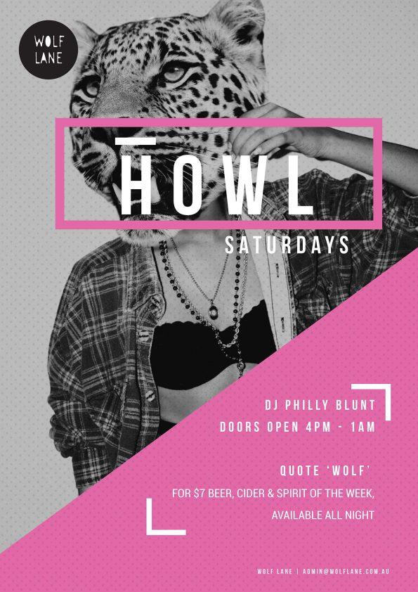 Howl Saturdays party