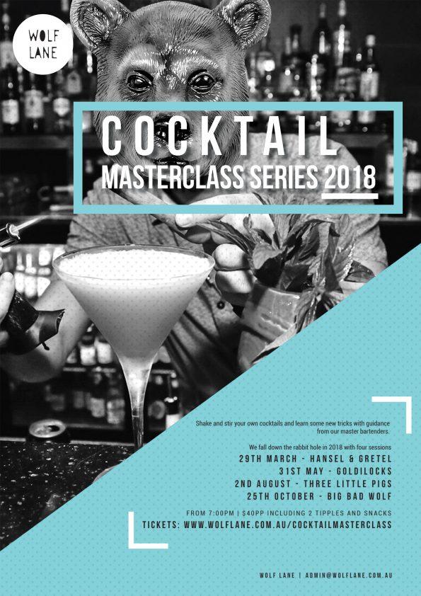 Cocktail Masterclass Wolf Lane